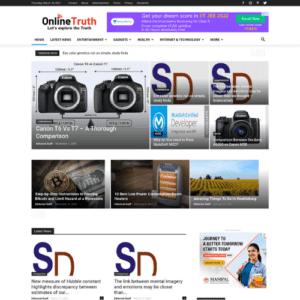 News Website Portfolio