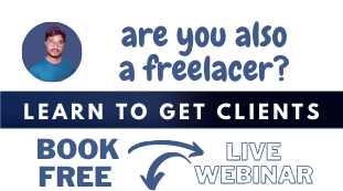 Book a Live Webinar on How to Start Freelancing